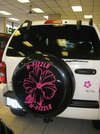 Think really cute decorative car magnets from Fun Car Tattoos!